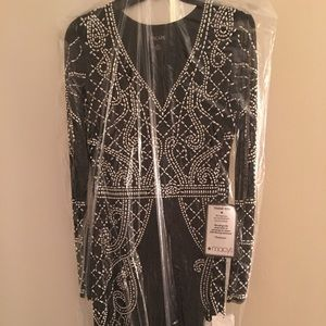 Xscape embellished Gown
